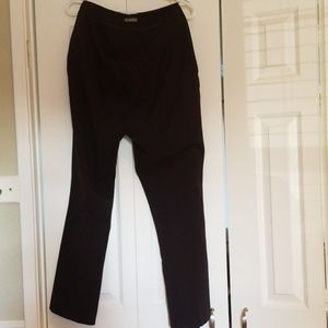 Maurices black boot cut dress pants